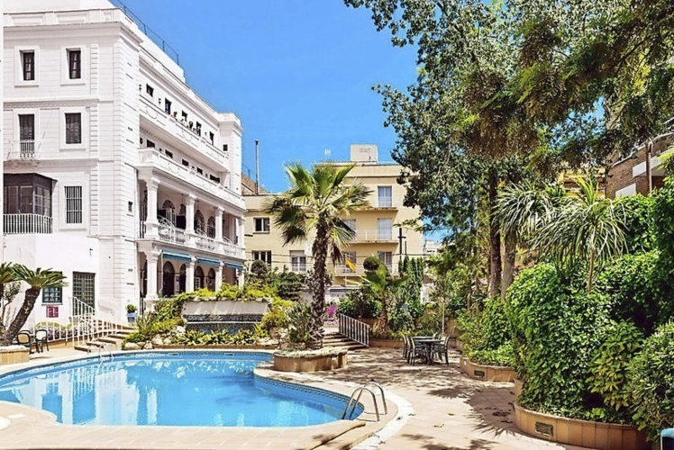 Hotel Guitart Rosa Lloret de mar Außenanlage Swimmingpool