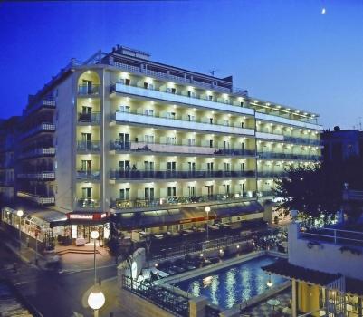 Hotel Maria del mar Lloret de mar Außenansicht Nacht