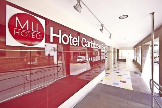 Hotel Caribbean Bay Mallorca Eingang Empfangshalle