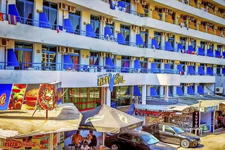 Party-Hotel Golden Sands Goldstrand Disko Party
